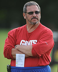 Everyday is casual Friday for Dave Gettleman.